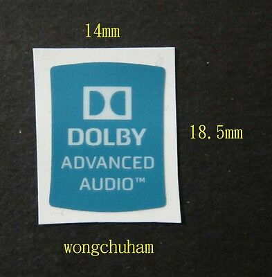 DOLBY ADVANCED AUDIO Sticker 14mm x 18.5mm
