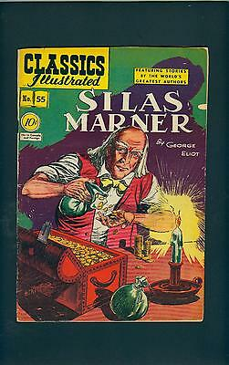 Classics Illustrated 55 HRN 55 (STRICT G+) Solid! Silas Marner, Eliot (id# 7081)