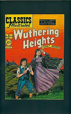Classics Illustrated 59 HRN 60 (STRICT VG) NICE! Wuthering Heights (id# 7088)