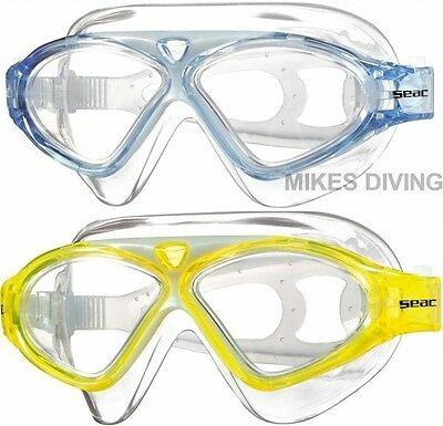 SEAC VISION JUNIOR - swimming goggles swim KIDS children