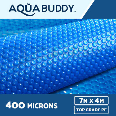 7M X 4M Solar Swimming Pool Cover 400 Micron Outdoor Bubble Blanket 2 YR WRTY