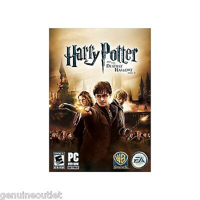 Harry Potter and The Deathly Hallows Part 2 for PC (DVD-ROM)