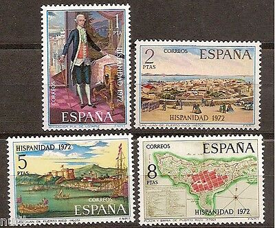 Spain Edifil # 2107/2110 ** MNH set. Hispanidad Puerto Rico
