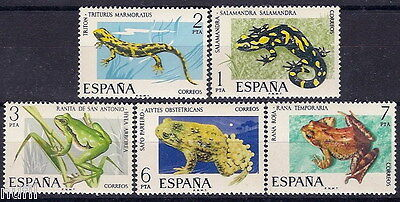 Spain Edifil # 2272/2276 ** MNH Set. Fauna / animals