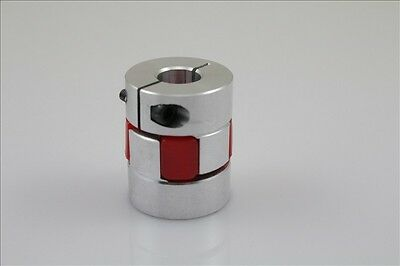 "12.7x12.7mm Jaw Shaft Coupling 1/2"" to 0.5"" Spider Flexible Coupler D30L40"