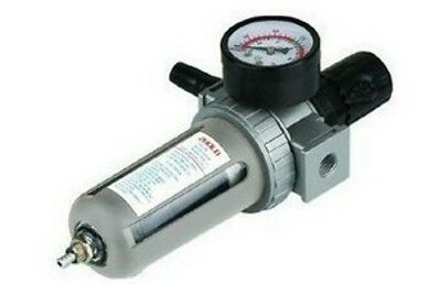 "New Pneumatic Air Filter Regulator BSP 3/8"" SFR-300"