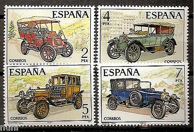 Spain  Edifil # 2409/2412 ** MNH Set  Coches / cars