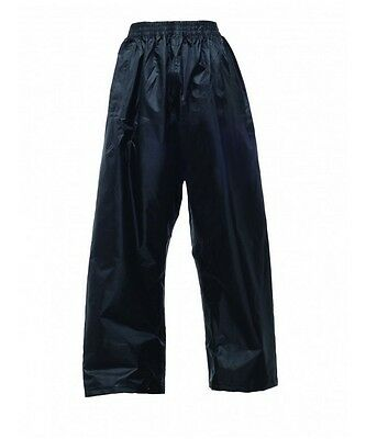 Regatta Kids Childrens Unisex Waterproof Over Trousers