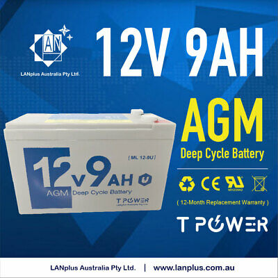 Brand NEW 12V 9AH SLA AGM Battery Same Size as 12V 7ah/7.2ah but 2ah 25% Higher
