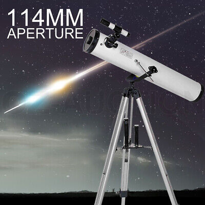 Astronomical Telescope 114mm Aperture 675x Zoom TL114A