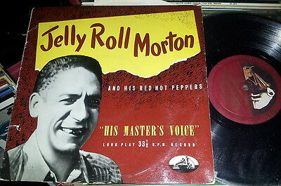 "Jelly Roll Morton and his red Hot Peppers 10"" DLP 1016 His Masters Voice"