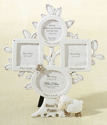 Little Lamb First Year Picture Frame Baby Shower Gift Baby Gifts 1st year
