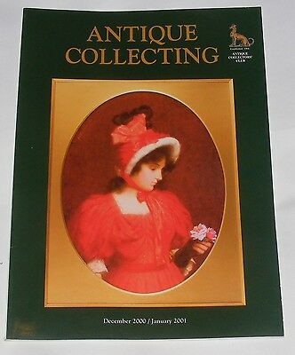 Antique Collecting December 2000/January 2001 - Art Deco Silver