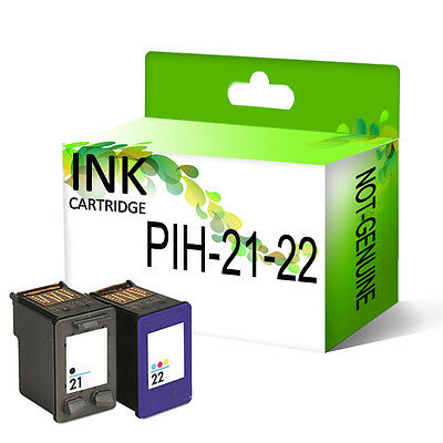 Remanufactured Generic Ink Cartridge Replace For 21XL & 22XL Printer