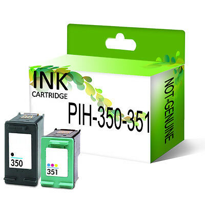 Remanufactured Generic Ink Cartridge Replace For 350XL 351XL Printer