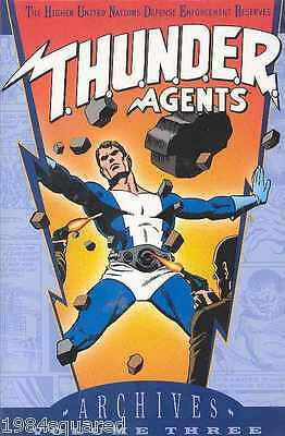Thunder Agents Archives Volume 3 Hardcover GN Wally Wood Tuska New HC NM