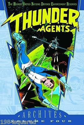 Thunder Agents Archives Volume 4 Hardcover GN Wally Wood New HC NM