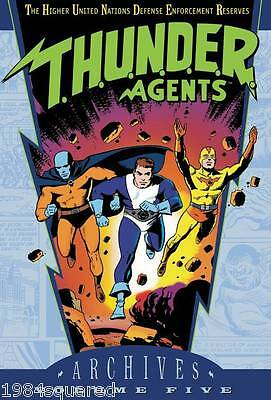 Thunder Agents Archives Volume 5 Hardcover GN Wally Wood New HC NM