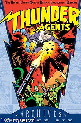Thunder Agents Archives Volume 6 Hardcover GN Wally Wood New HC NM