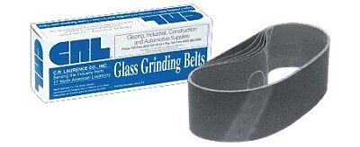 """3"""" x 21"""" 400X Grit Glass Grinding Belts for Portable Sanders - 10/Bx"""
