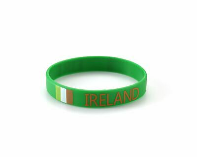IRELAND - World Cup / Olympics Irish St Patrick's Day Eire Silicone Wristbands