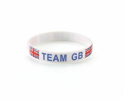 TEAM GB - Olympics Great Britain Silicone Wristbands (Various Quantities)