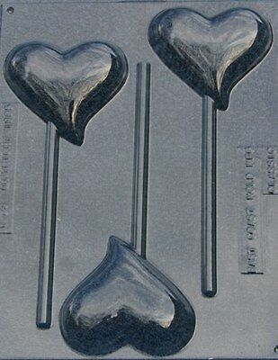 TEAR DROP HEART WITH LOVE CANDY MOLD MOLDS VALENTINE FAVORS PARTY