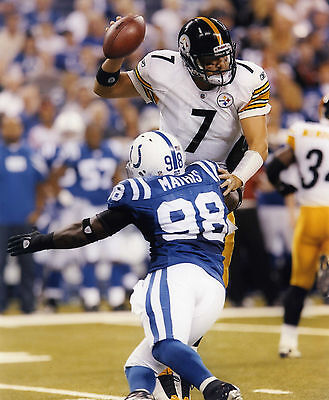 Robert Mathis Indianapolis Colts 8X10 Sports Photo (V)