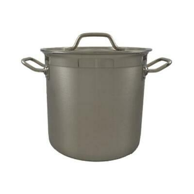 New Commercial 71L Stainless Steel Stock Pot Saucepan With Forged Triple Bottom