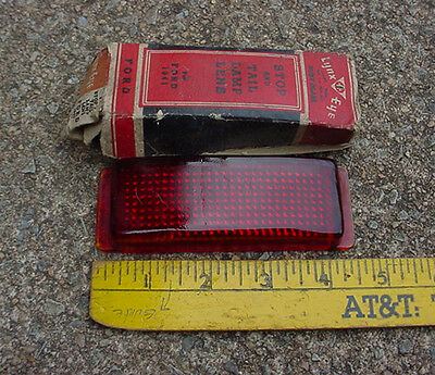 Fomoco 41 Ford Nors Taillight Lens Lynx Eye T311