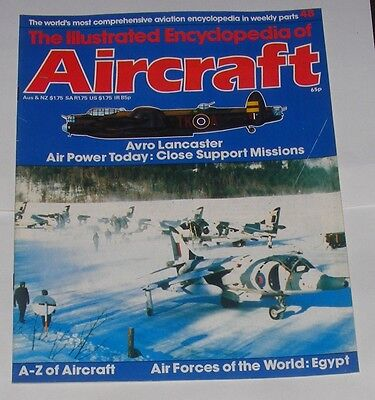 Illust. Ency. Of Aircraft #48 - Avro Lancaster/Close Support Missions/Egypt