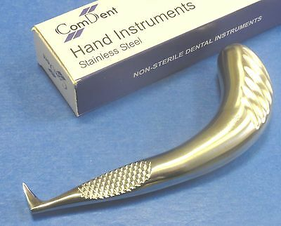 "Dental Surgical Root Elevators""Special Handle Fig1"" S Steel CE New Ref 10-362/1"