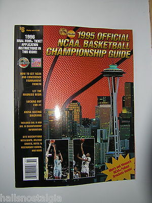1995 Official NCAA Basketball Championship Guide-Let The Madness Begin