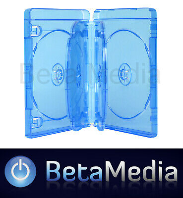 20 x Blu ray 22mm *** Holds 6 *** Quality Blu-ray cover / case