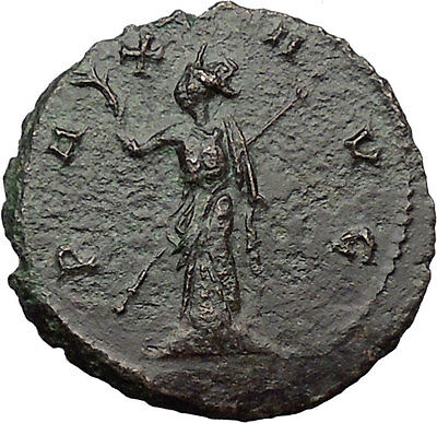 Claudius II Gothicus 268AD Authentic Ancient Roman Coin PAX Peace i31387