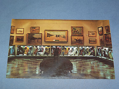 Vintage National Museum Of Horse Racing Saratoga Springs New York   Postcard