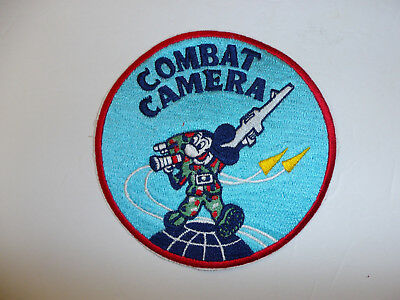c0309 US Air Force Iraq Afghanistan War Combat camera patch