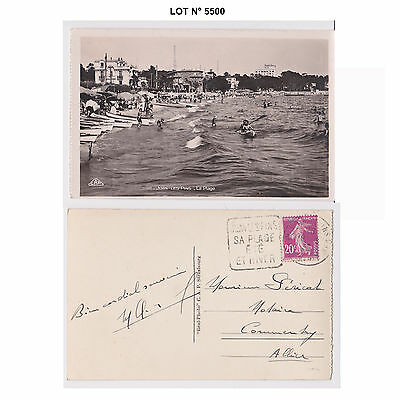 005500 CP carte postale CPA CPSM - juan les pins - EE - AT - AV - PC