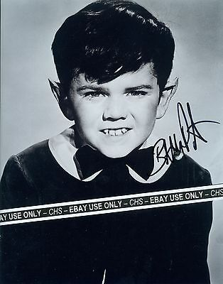 "BUTCH PATRICK NICE SIGNED EARLY B&W 8x10 PHOTO ""THE MUNSTERS"" ""EDDIE MUNSTER"""