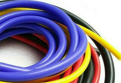 10Mm Upto 25Mm I.D Silicone Vacuum Hose Tubing Turbo Coolant Rubber Air Vac Pip