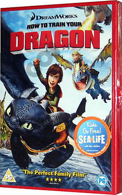 How To Train Your Dragon - Dreamworks Family Dragon Childrens Film for Kids DVD