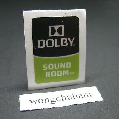 DOLBY SOUND ROOM Sticker 14mm x 20mm