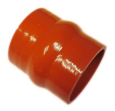 "RED Silicone Hose HUMP Coupler 63mm Straight (2.5"") Silicon Joiner"