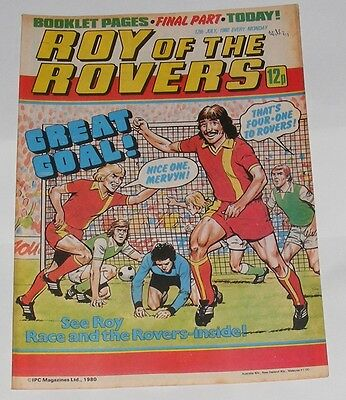 Roy Of The Rovers Comic 12Th July 1980 Alan Curbishley Birmingham City