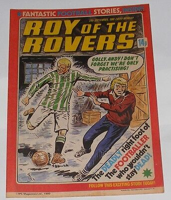 Roy Of The Rovers Comic 27Th September 1980 Peter Daniel Of Wolverhampton
