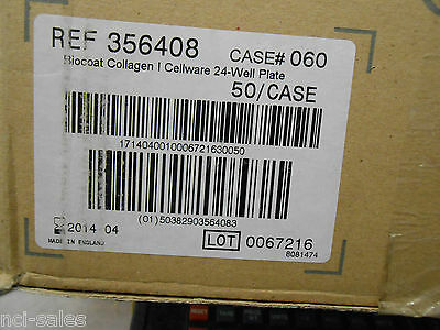 Bd Biocoat 356408 Collagen Cellware 24-Well Plate 50/Case