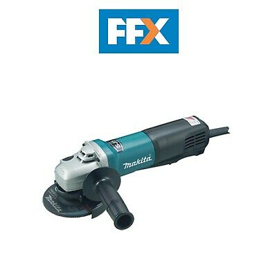 Makita 9564PCV 110v 115mm Angle Grinder with Paddle Switch