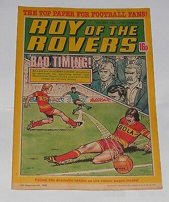 Roy Of The Rovers Comic 15Th May 1982 Mark Dennis Of Birmingham City