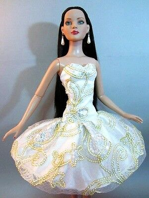 "Tonner American Model 22"" Doll Fashion Clothes Evening Dress Outfit Gown Skirt"