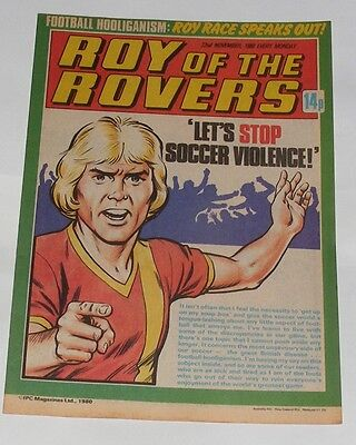 Roy Of The Rovers Comic 22Nd November 1980 Gordon Smith Of Brighton